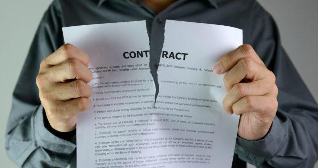9 causes des ruptures des contrats d'apprentissage