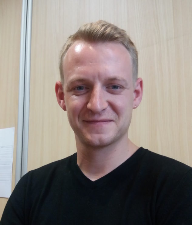 Jason Pouly, prévôt des Compagnons du Devoir de Strasbourg
