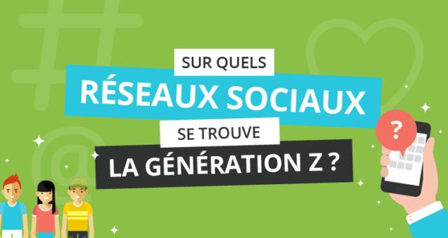 Infographie – La génération Z et les réseaux sociaux